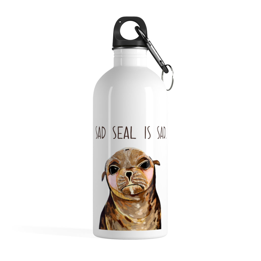 Gary the Seal Stainless Steel Water Bottle