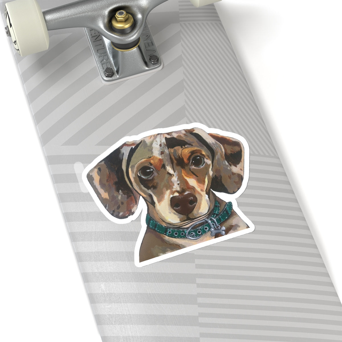 Drake the Dachshund Kiss-Cut Sticker