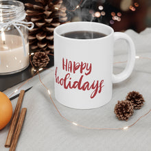 Load image into Gallery viewer, Holiday Pups Mug - Golden Retriever
