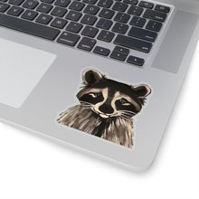 Load image into Gallery viewer, Ricki the Raccoon Kiss-Cut Sticker