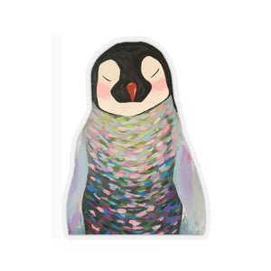 Penny the Penguin Kiss-Cut Sticker