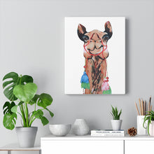 Load image into Gallery viewer, Sienna the Camel on Canvas Gallery Wrap