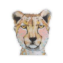 Load image into Gallery viewer, Lida the Cheetah Kiss-Cut Sticker