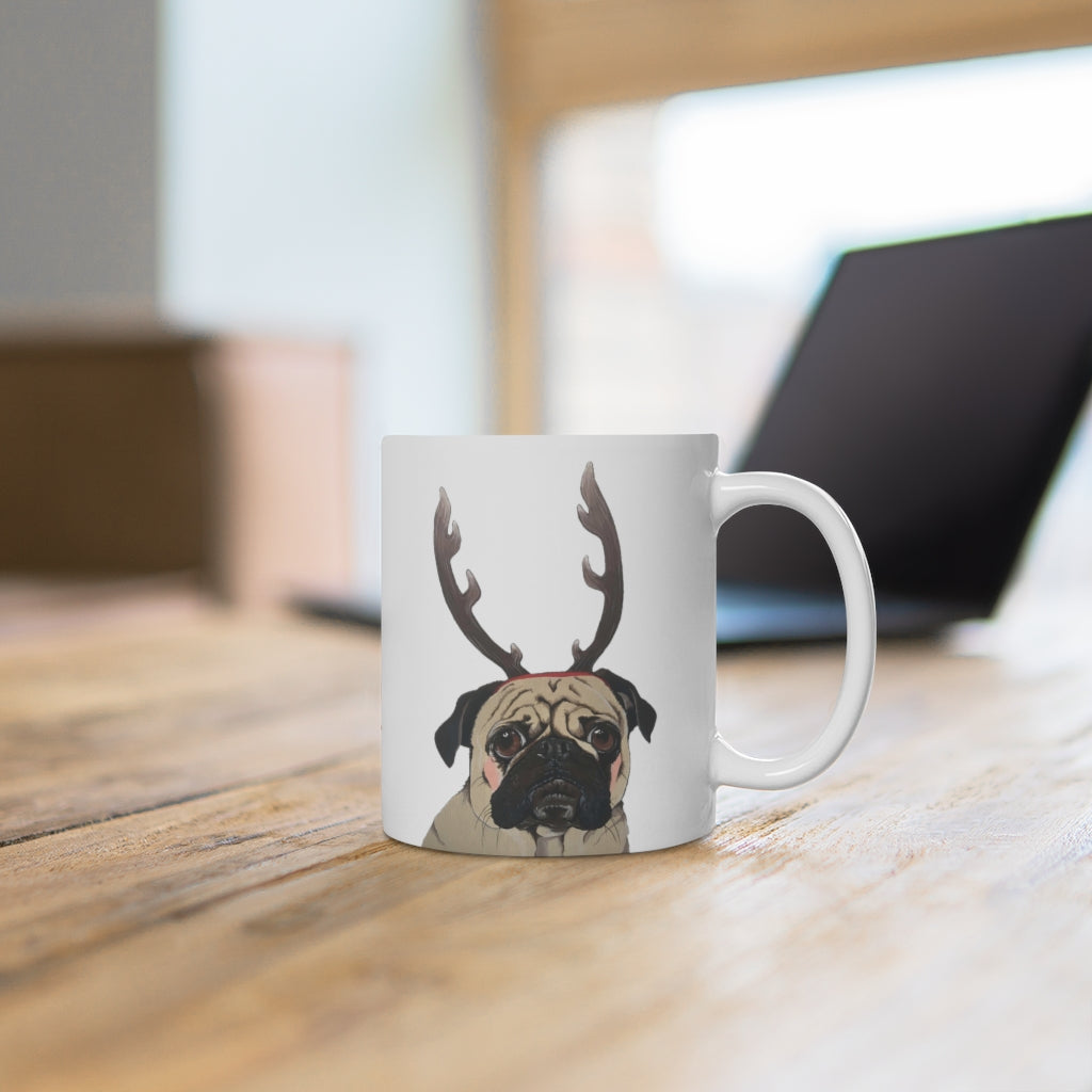 Holiday Pups Mug - Pug