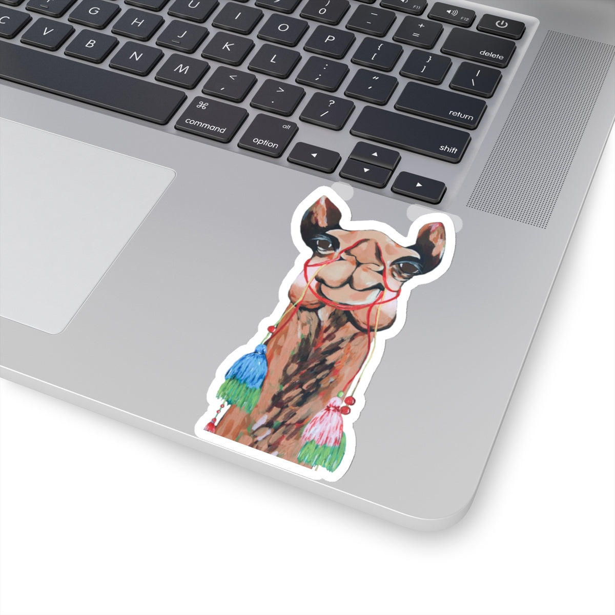 Sienna the Camel Kiss-Cut Sticker