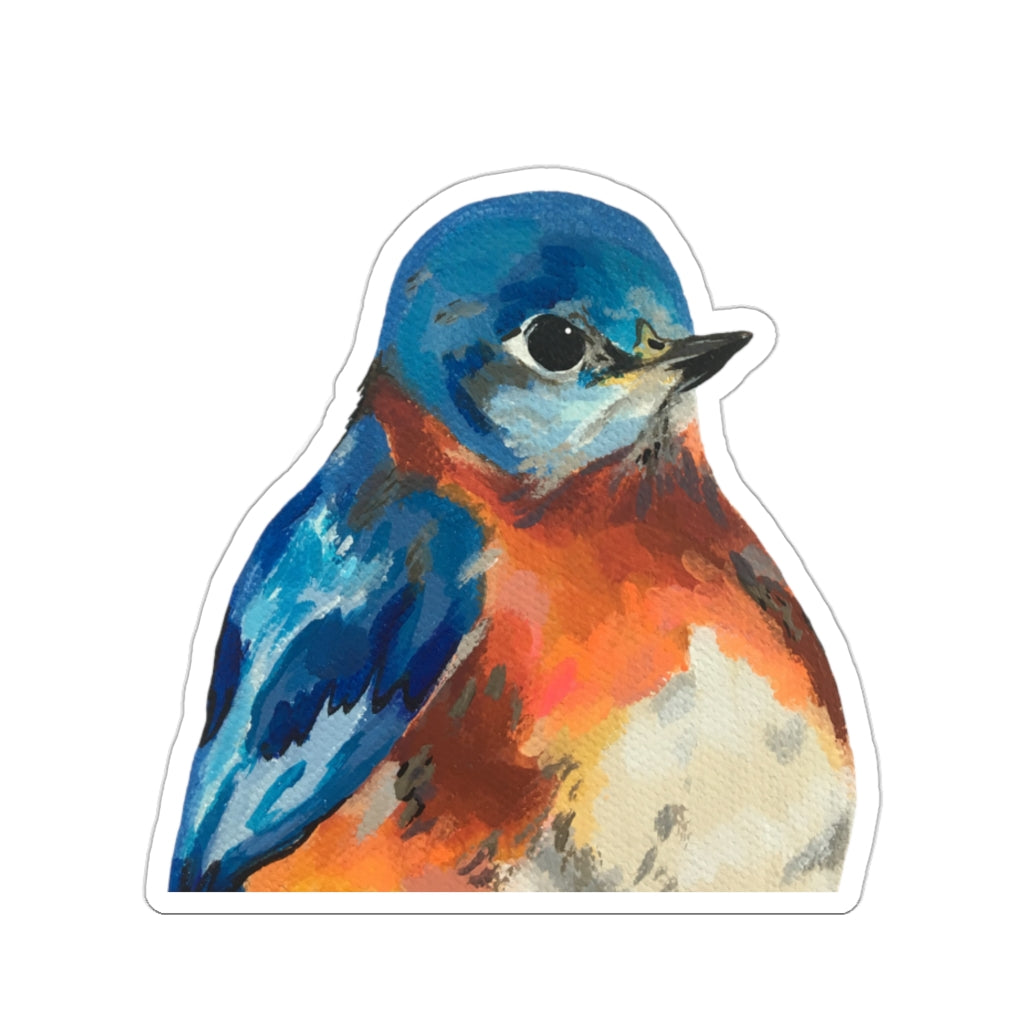 Bluebird Kiss-Cut Sticker