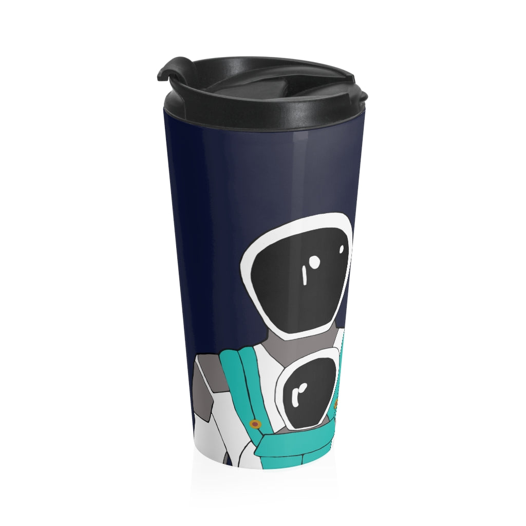 Working Parent Stainless Steel Travel Mug ( JSC )