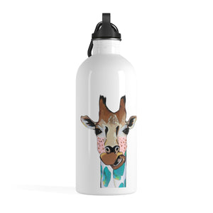 Mary Jane the Giraffe Stainless Steel Water Bottle