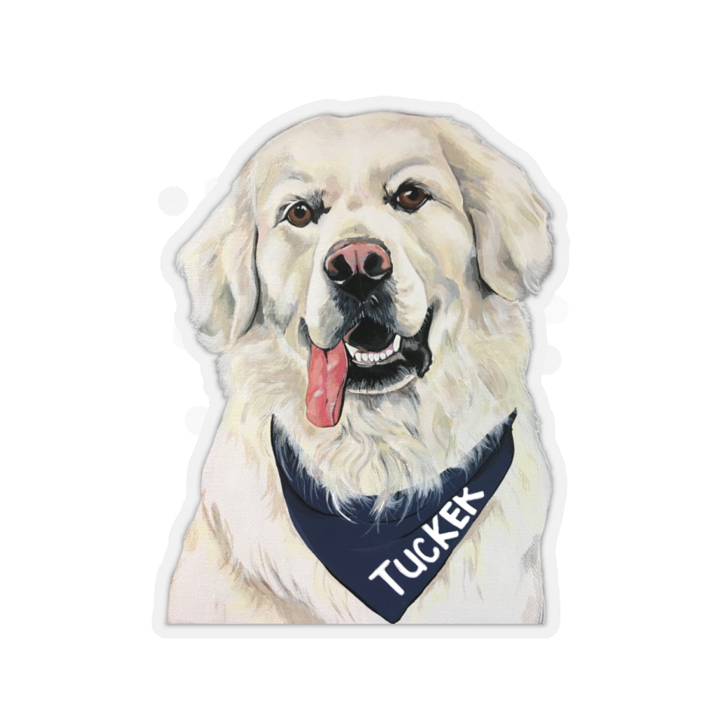 Tucker Kiss-Cut Stickers