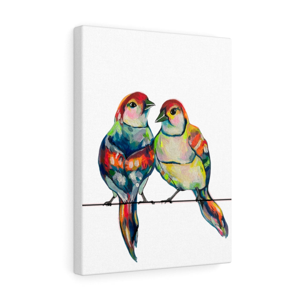 Love Birds Canvas Gallery Wrap