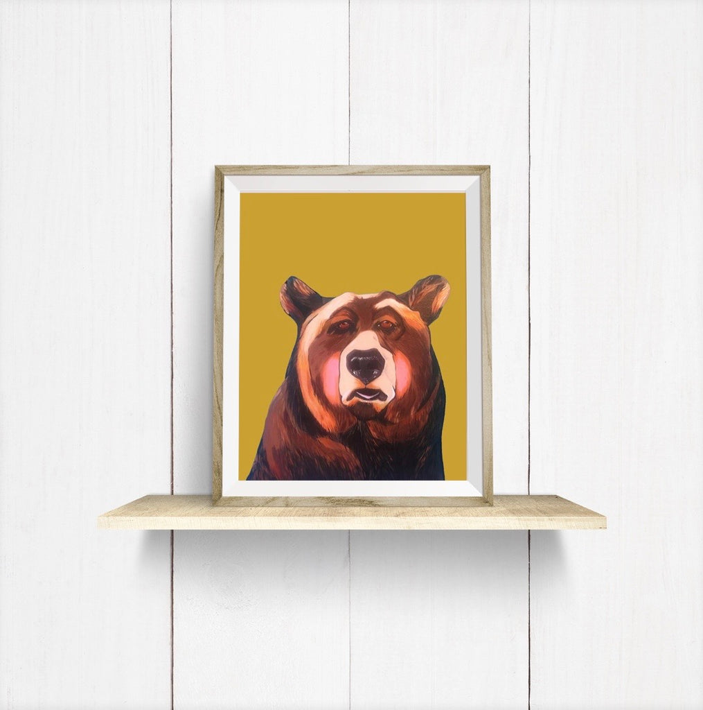 Print - Johnny the Bear