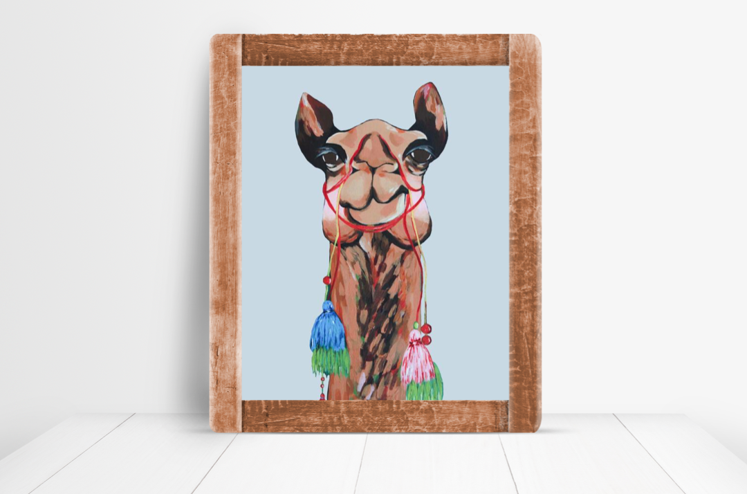 Print - Sienna the Camel