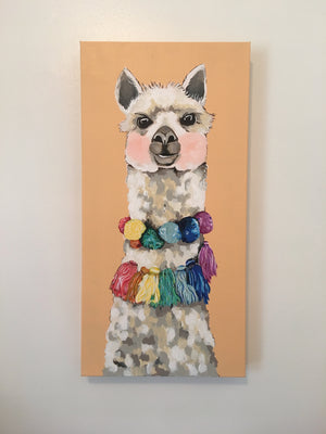 Alexei the Alpaca Original Painting