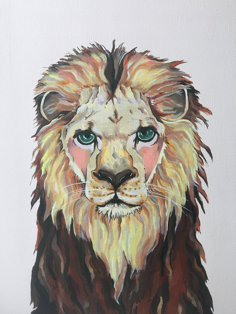 Laurence the Lion Original Painting