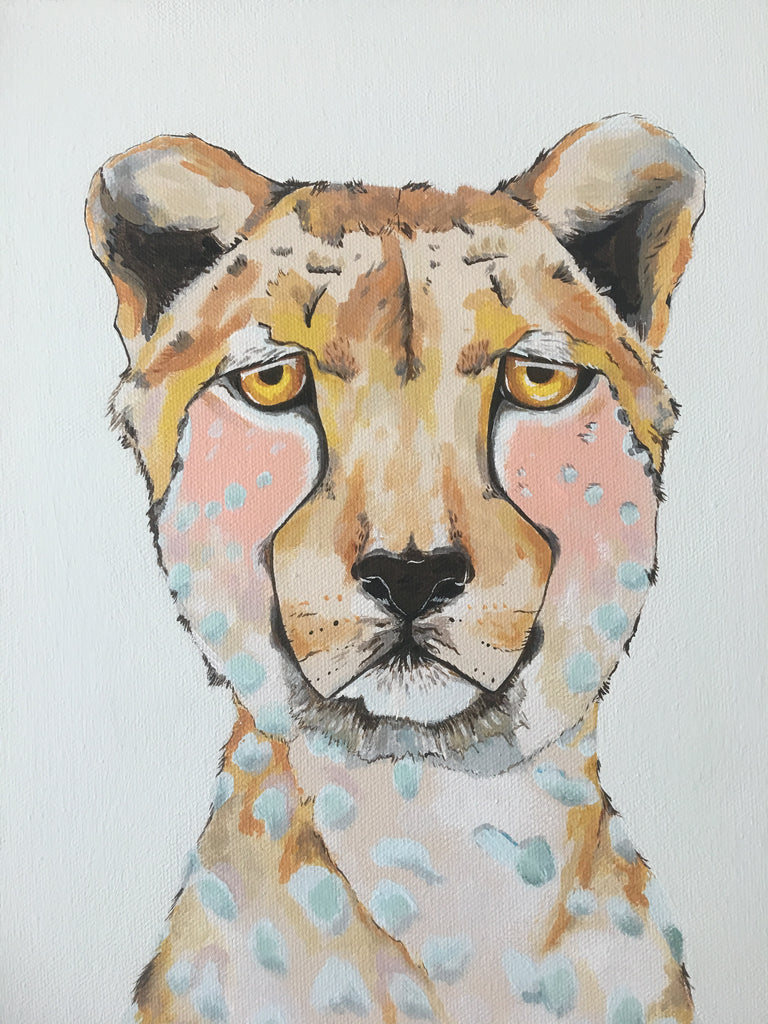 Lida the Cheetah Original Painting