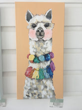 Load image into Gallery viewer, Alexei the Alpaca Original Painting