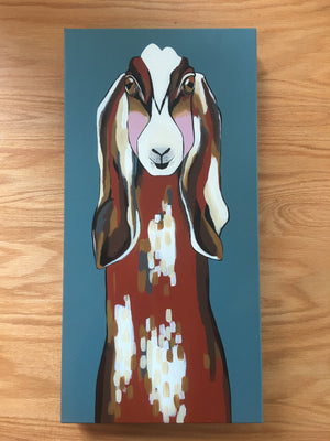 Lucy the Goat Original Painting