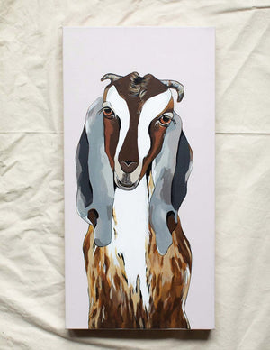 Godfrey the Goat Original Painting