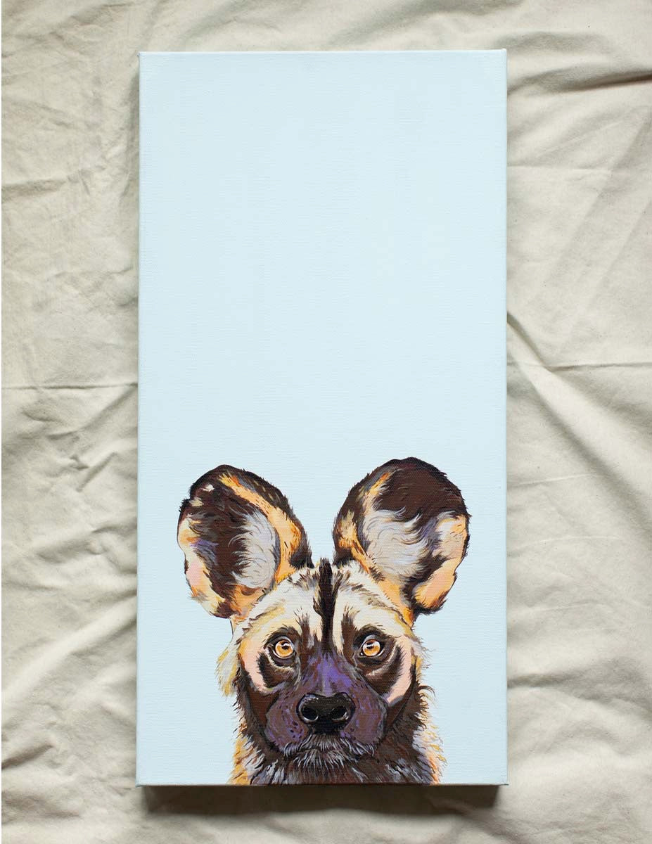 Willis the Wild Dog Original Painting