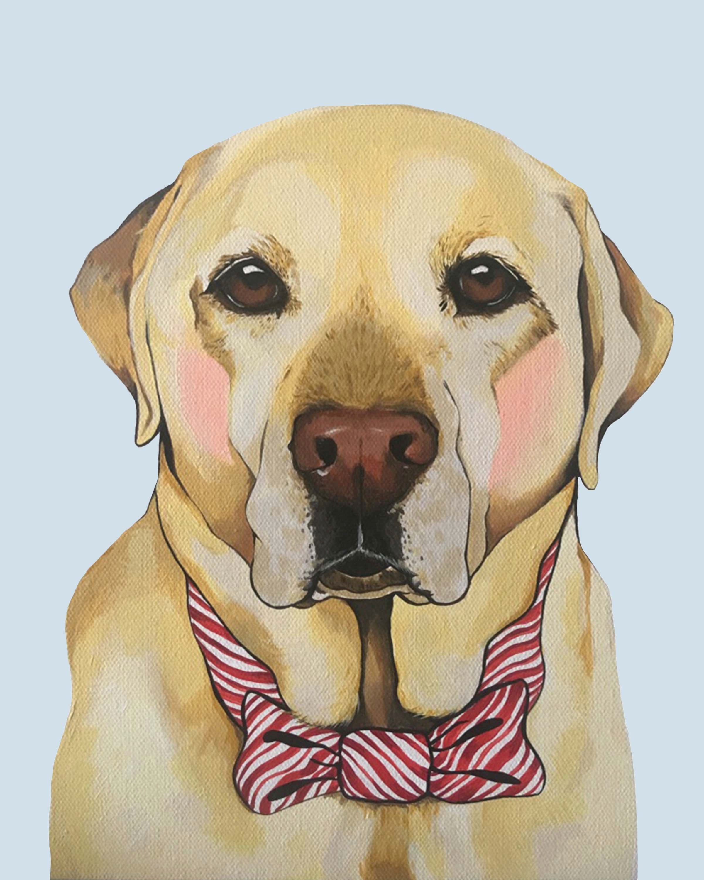 Print - Holiday Labrador