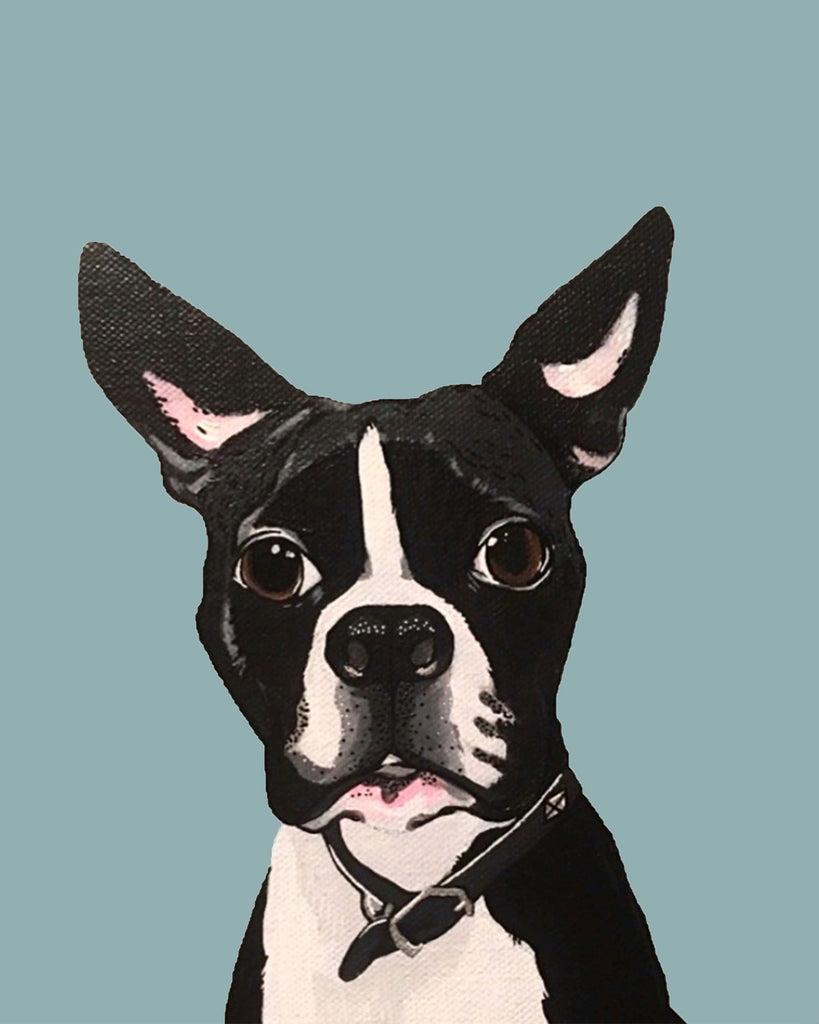 Dog Print - Boston Terrier