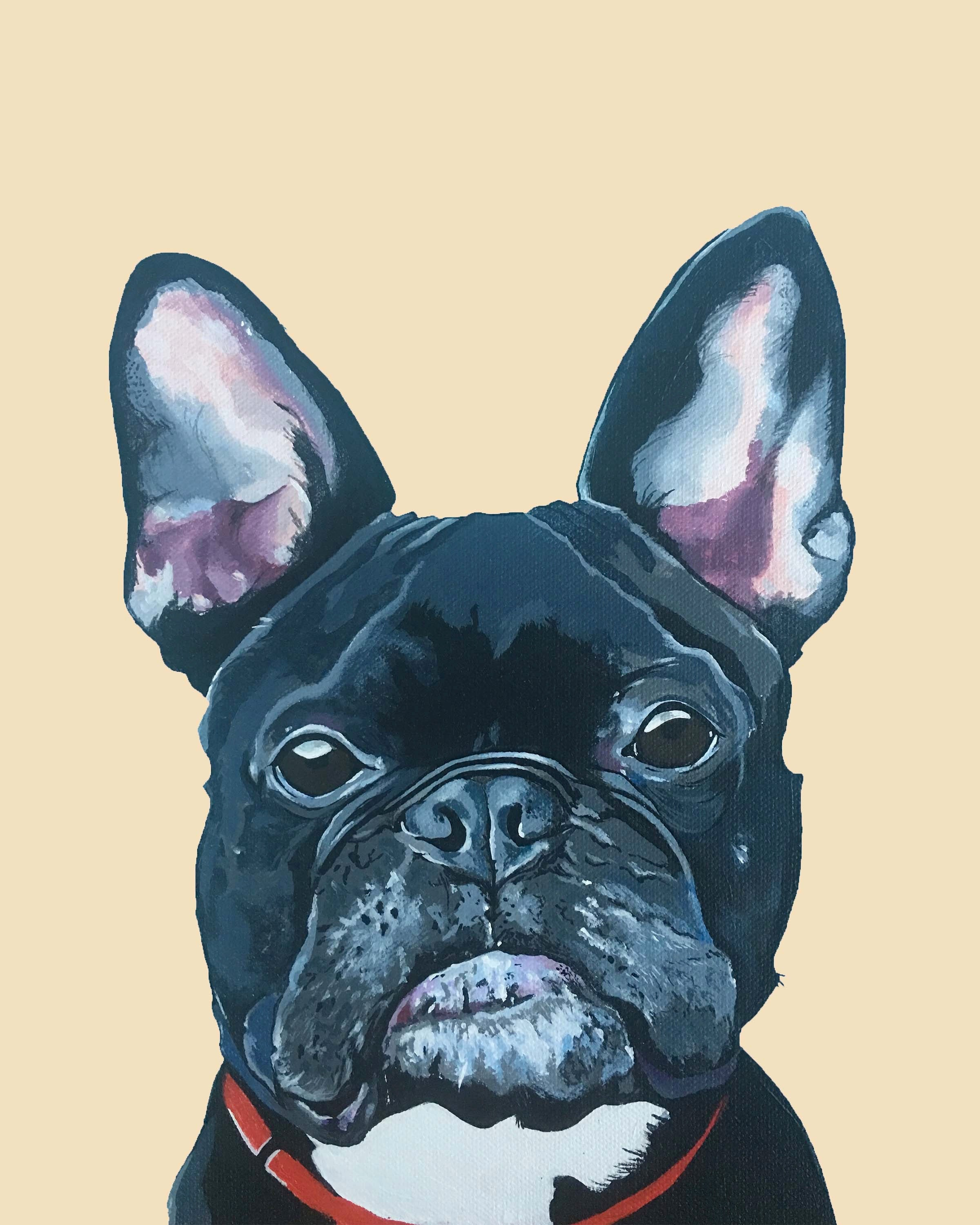 Dog Print - Mister French the French Bulldog
