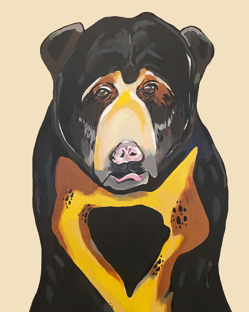 Print - Sam the Sun Bear