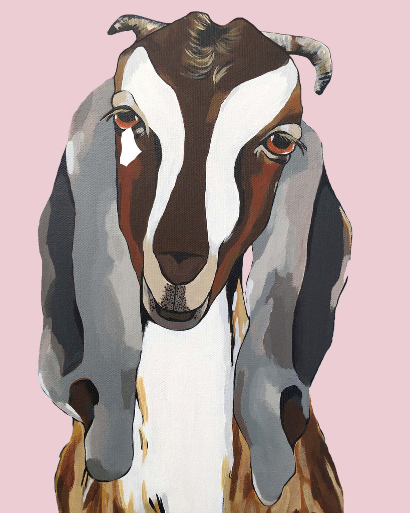 Print - Godfrey the Goat