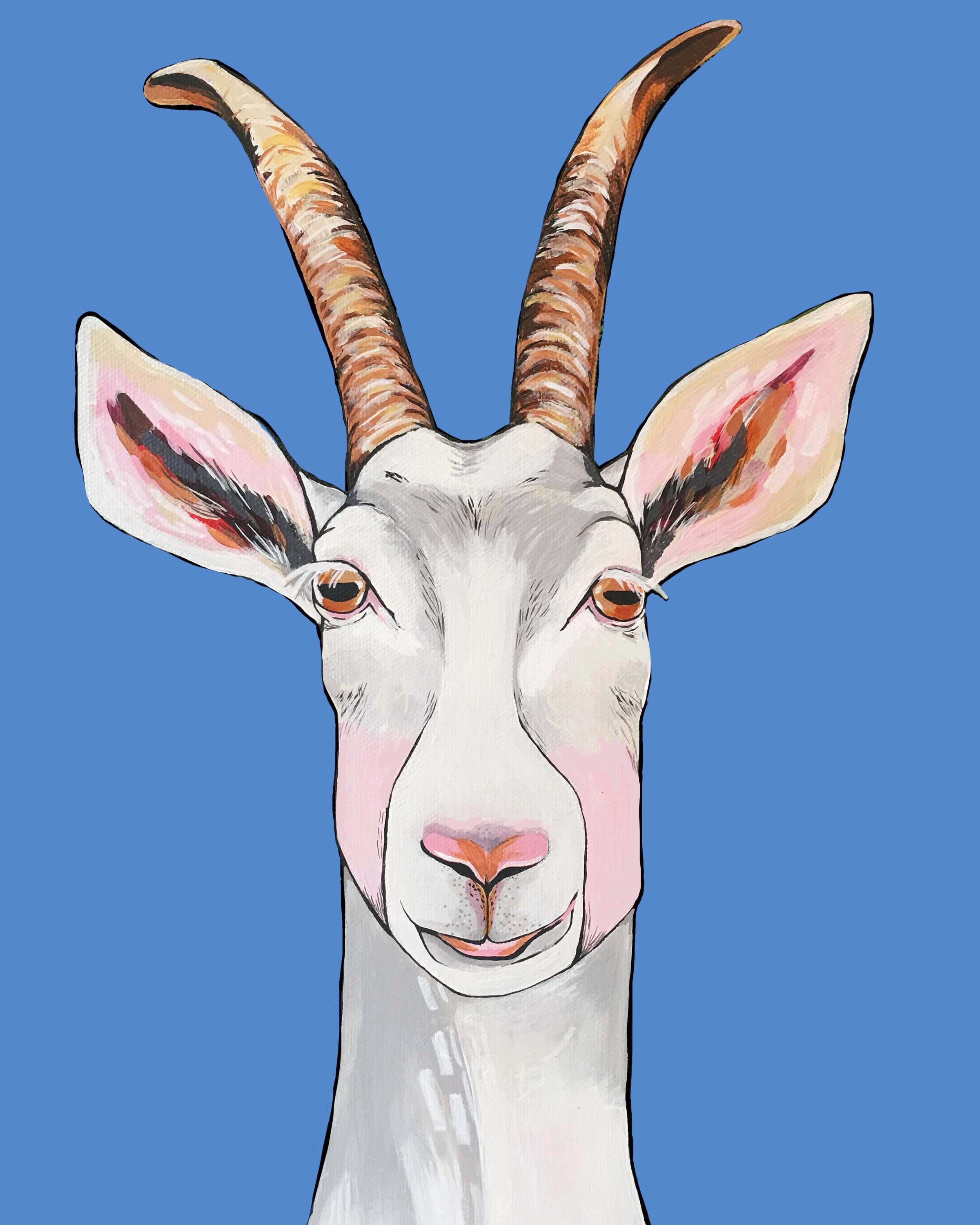 Print - Billy the Goat