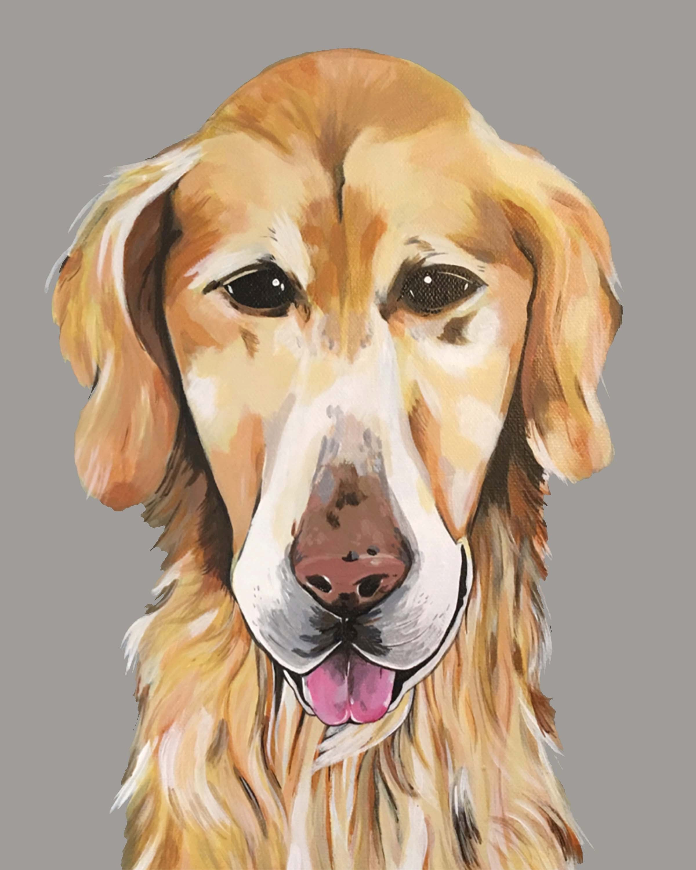 Dog Print - Golden Retriever I