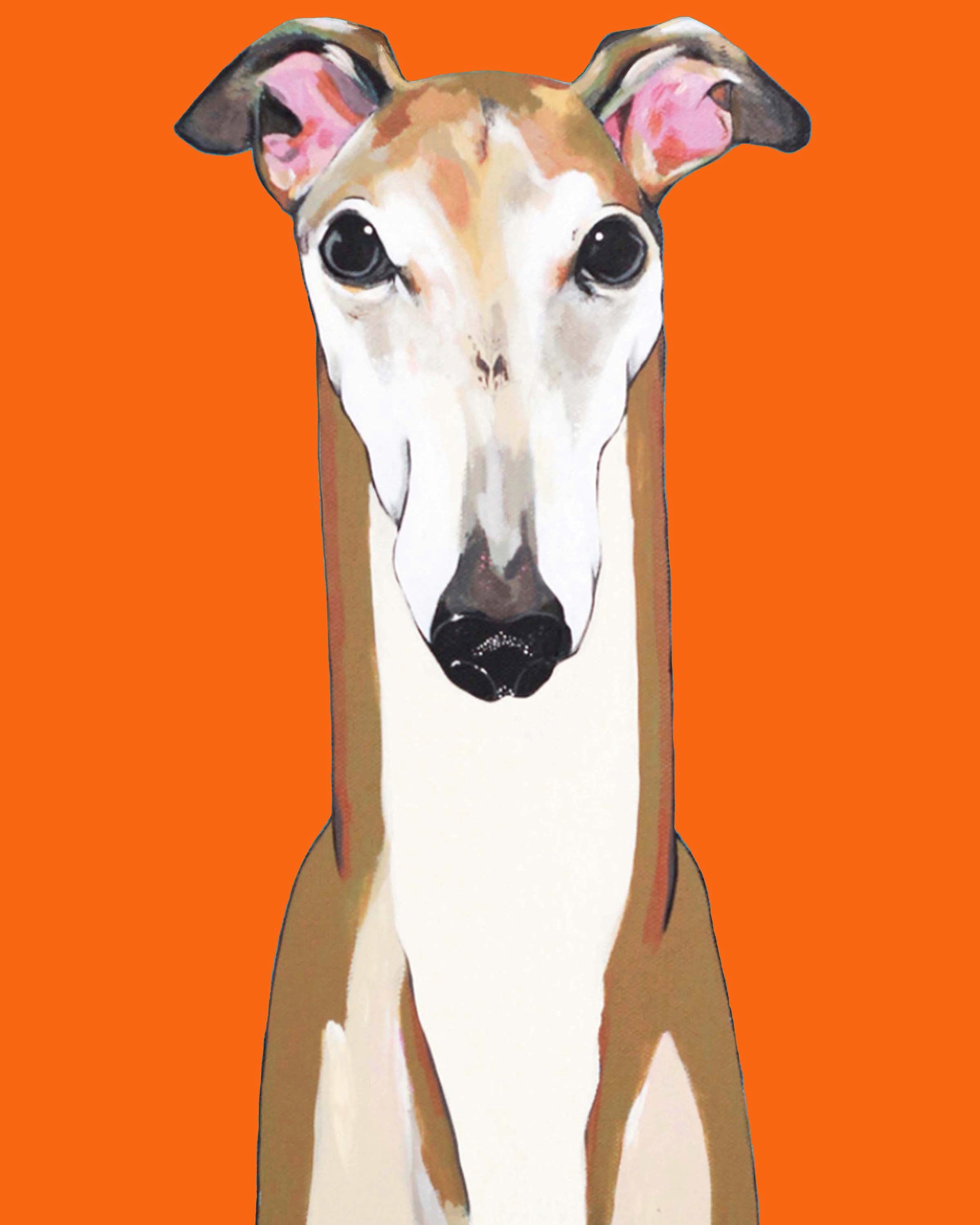 Dog Print - Ron the Greyhound