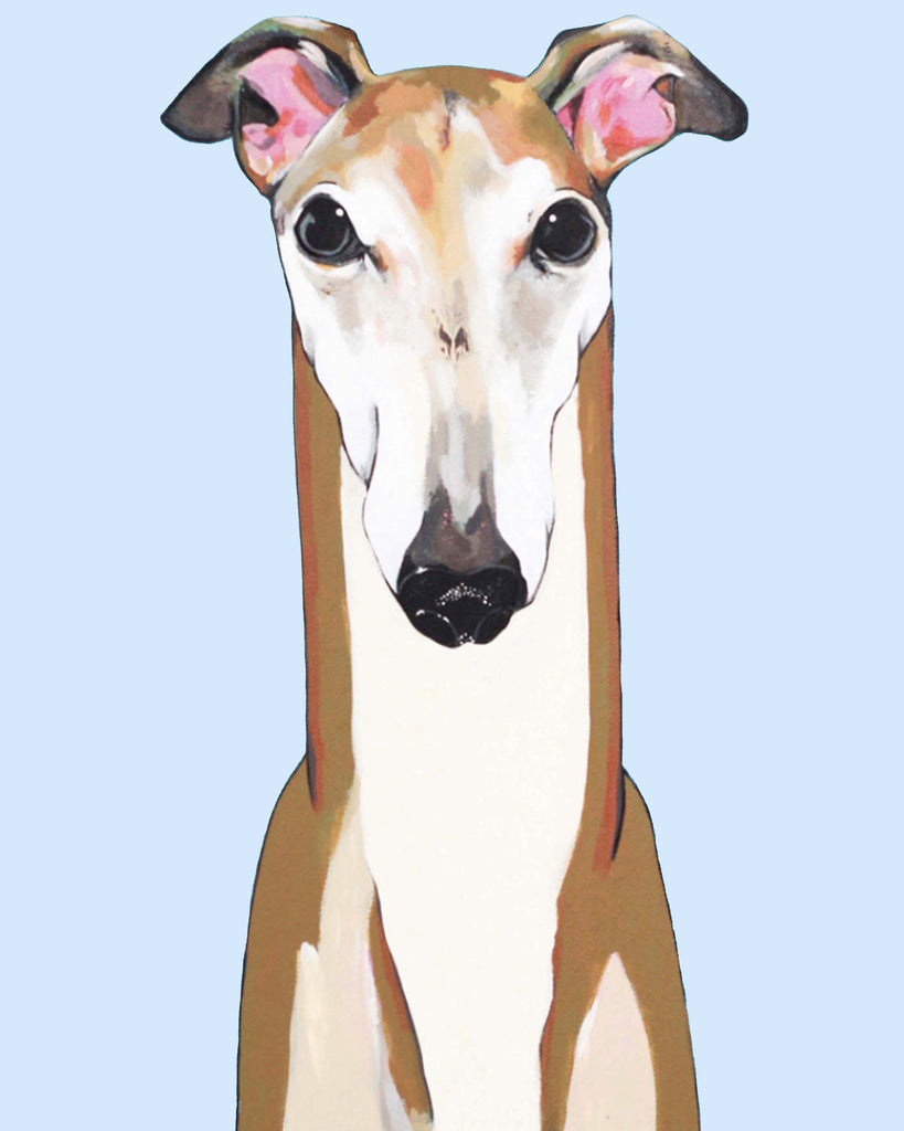Dog Print - Greyhound