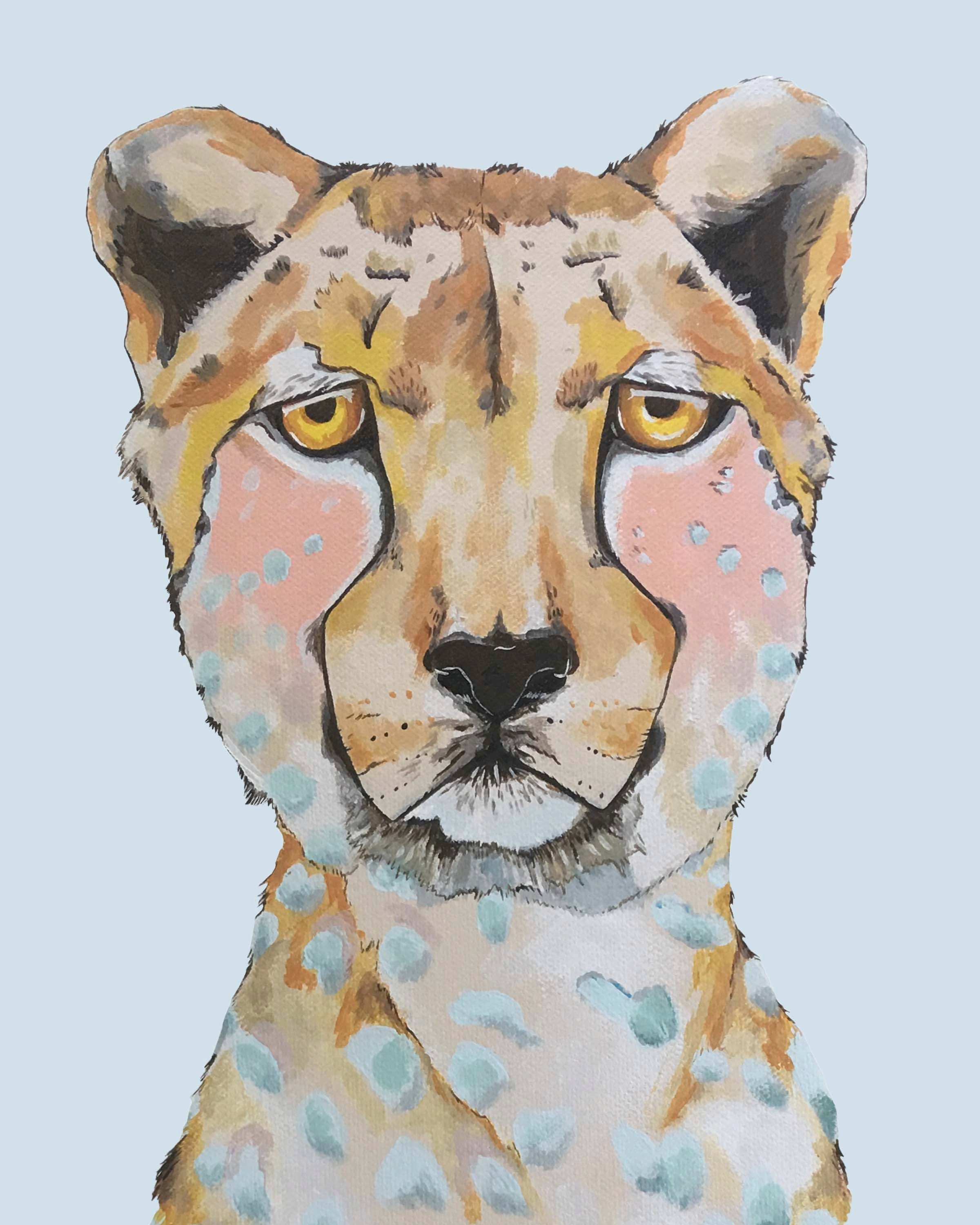 Print - Lida the Cheetah