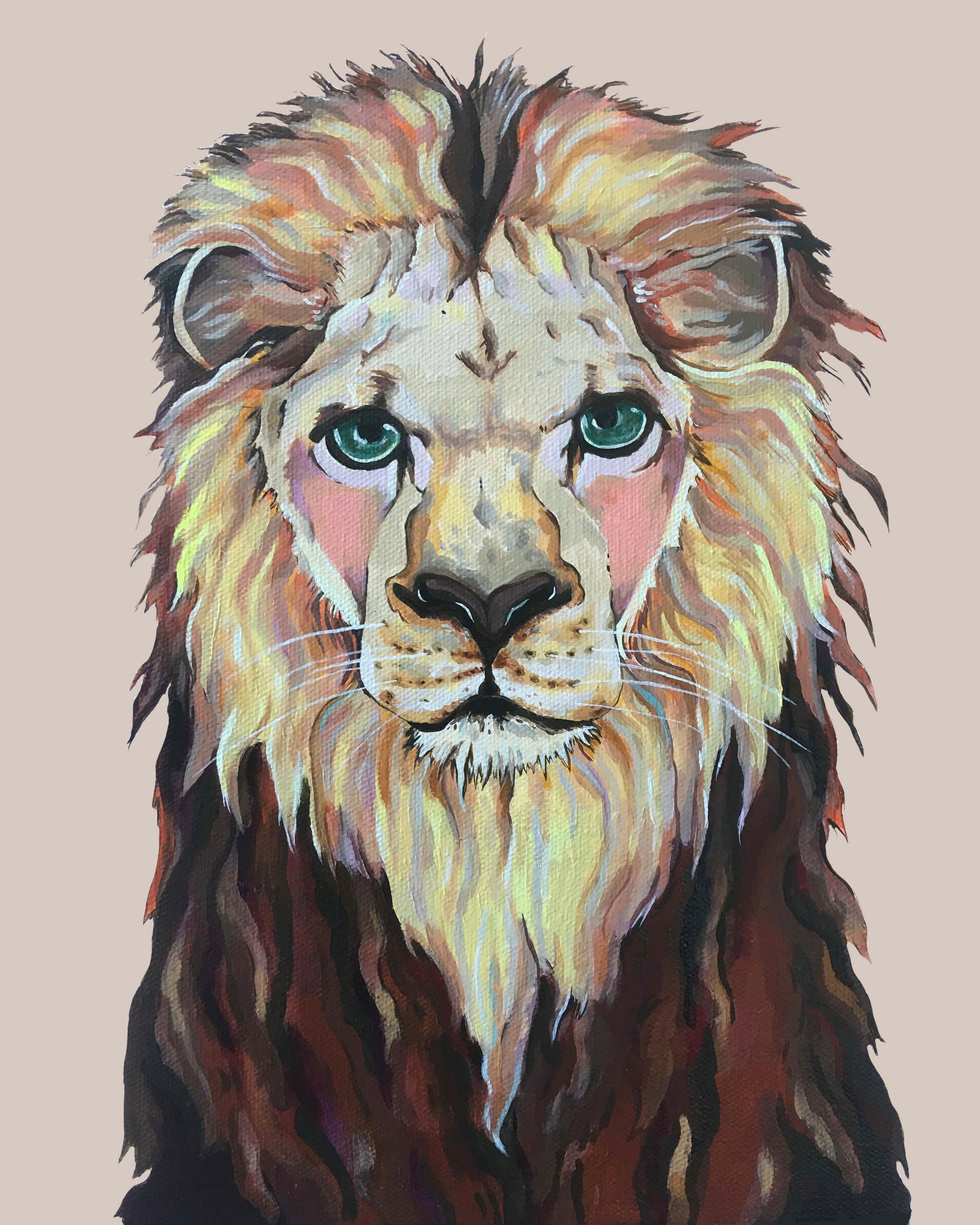 Print - Laurence the Lion