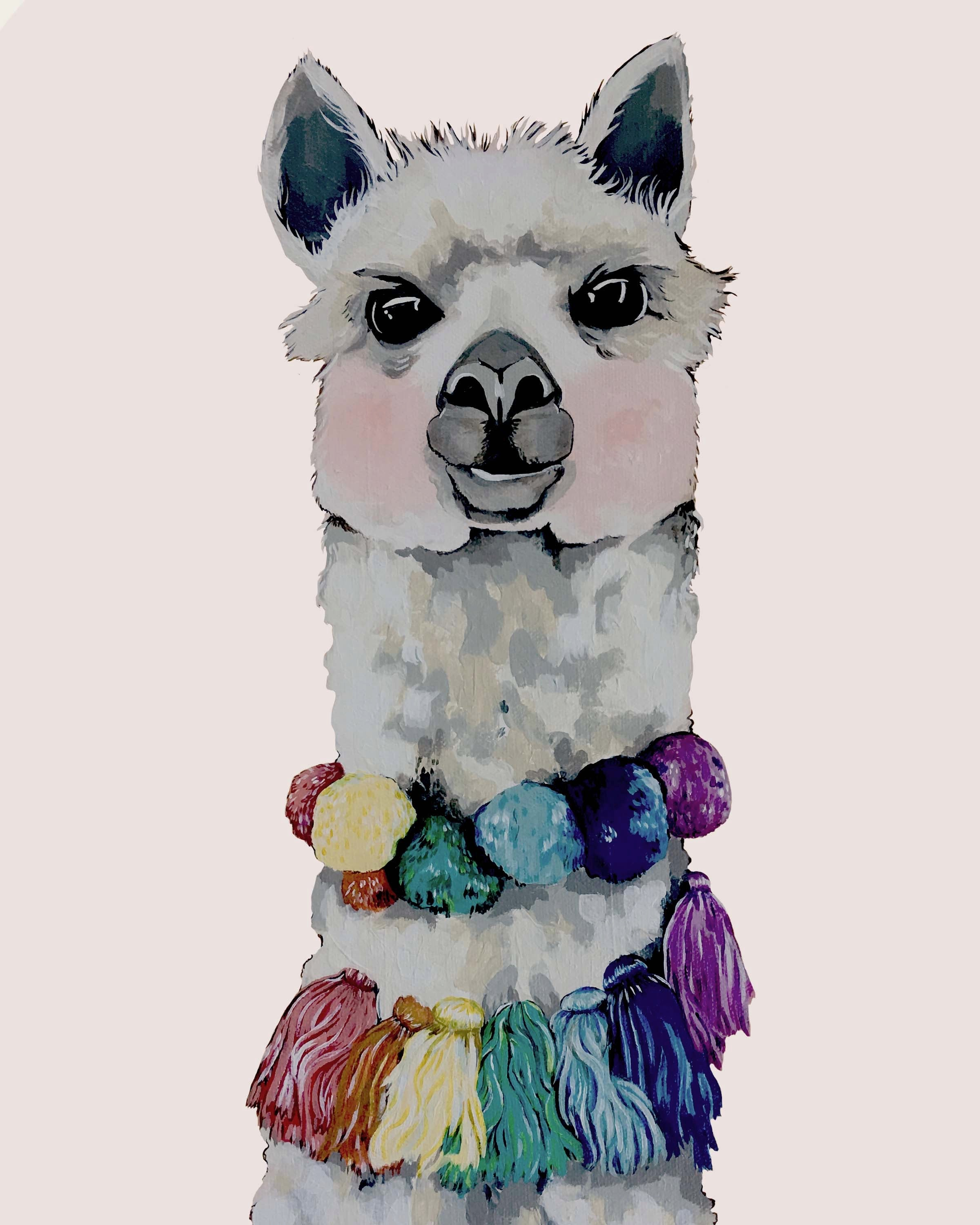 Print - Alexei the Alpaca