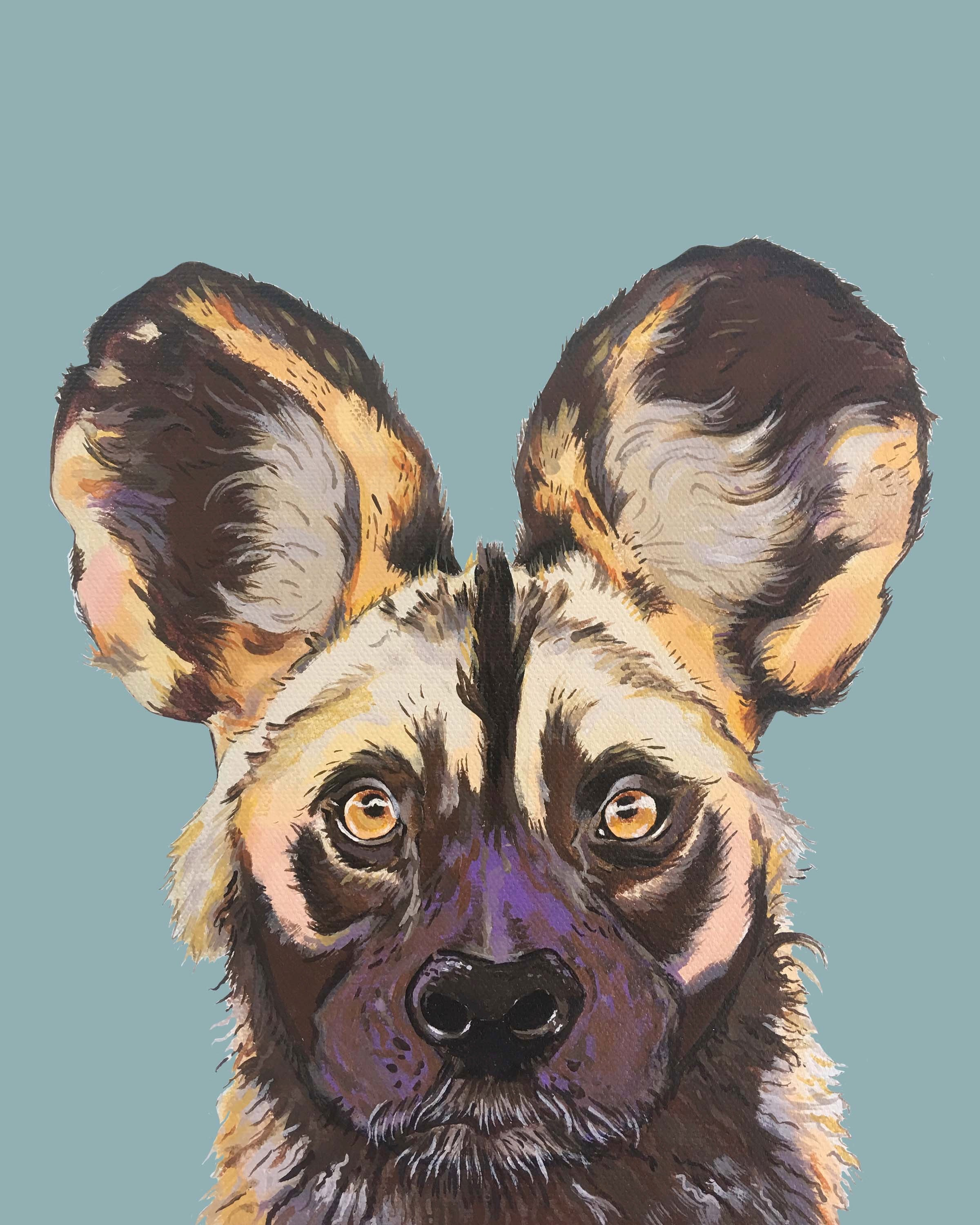 Print - Willis the Wild Dog