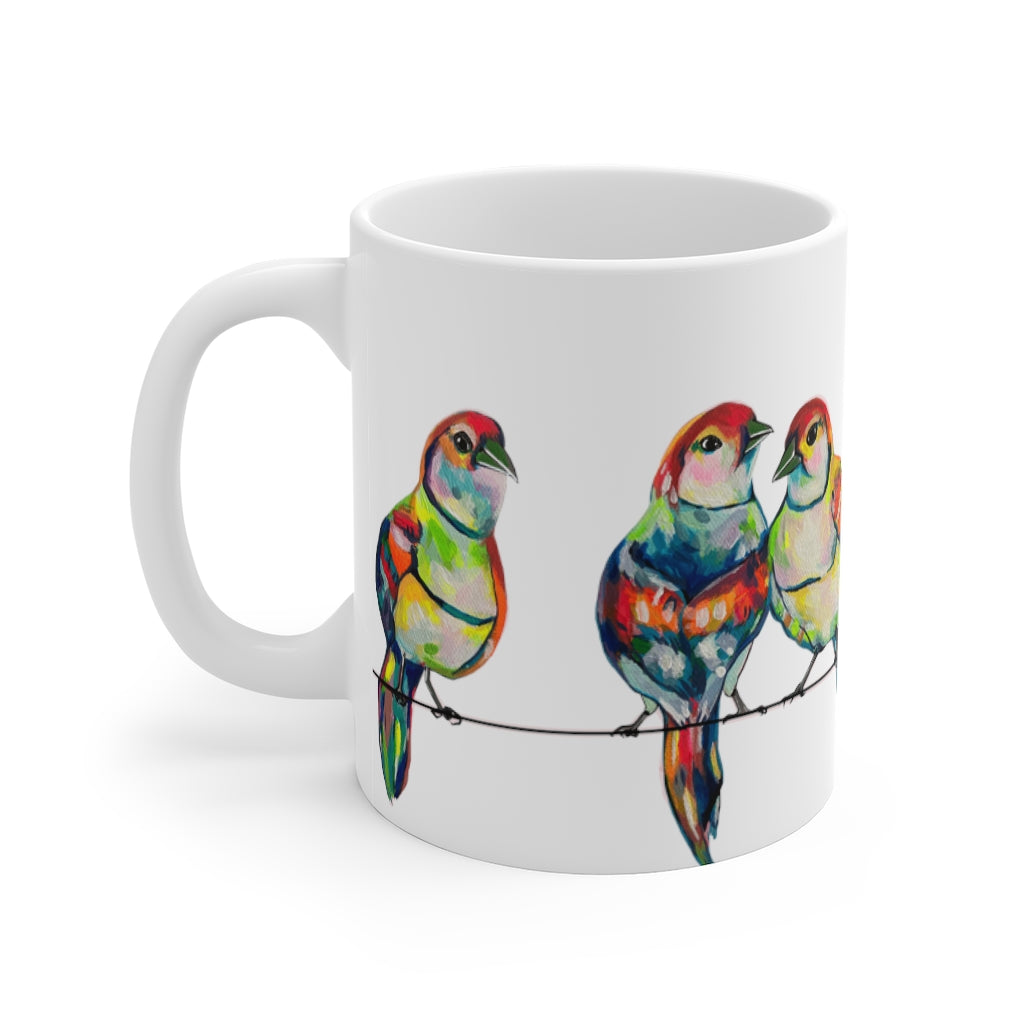 Hotwire Birds Mug