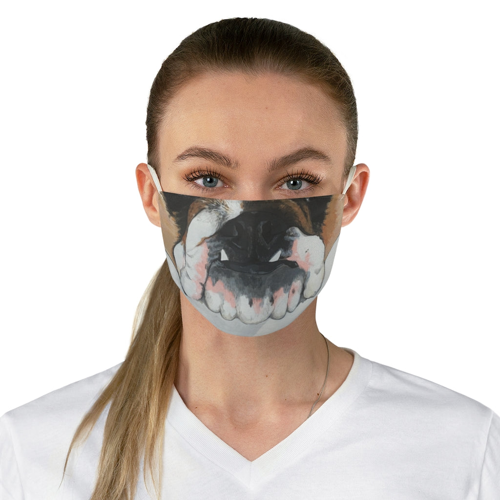 Zoe Fabric Face Mask - Jenn Packer