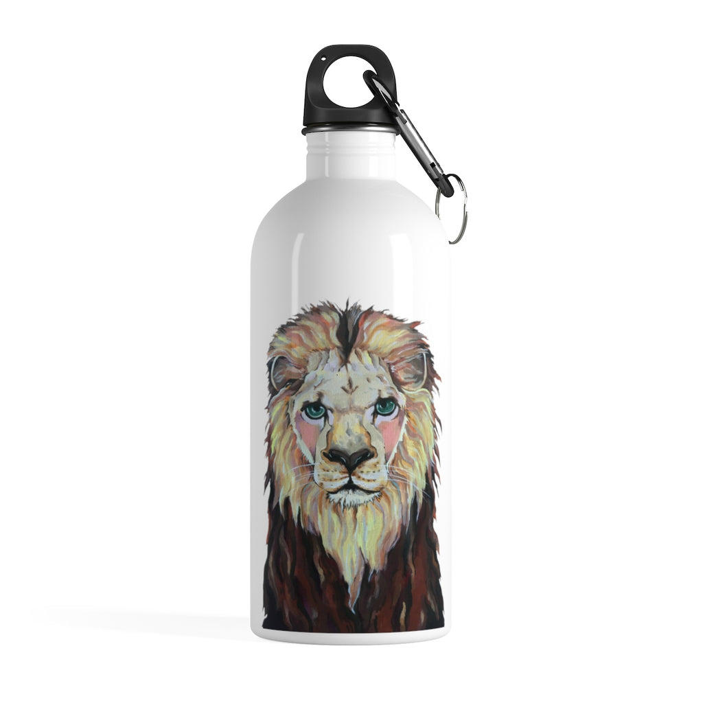 Laurence the Lion Stainless Steel Water Bottle
