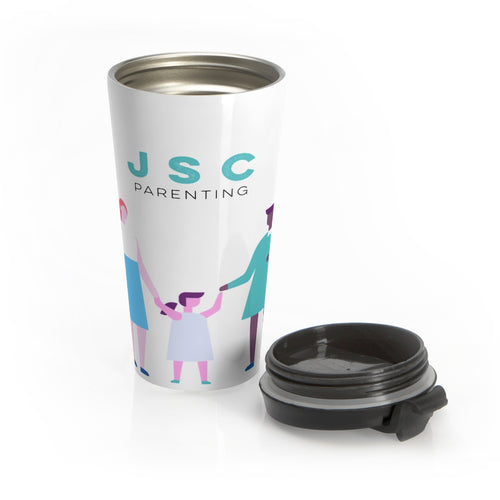 Two Mamas Stainless Steel Travel Mug ( JSC )