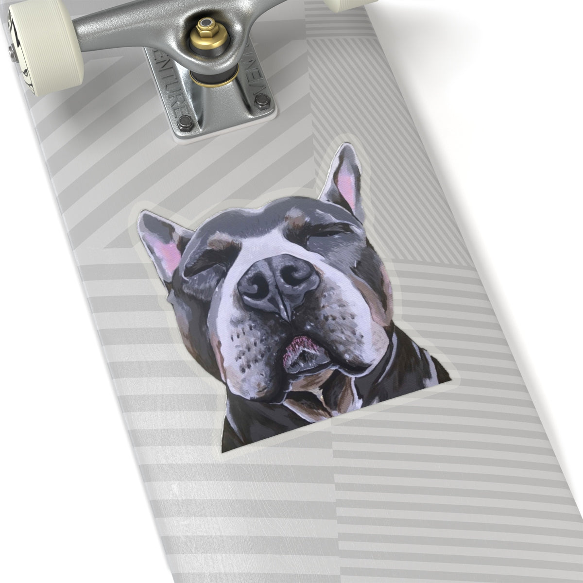 Phineas the Pit Bull Kiss-Cut Sticker