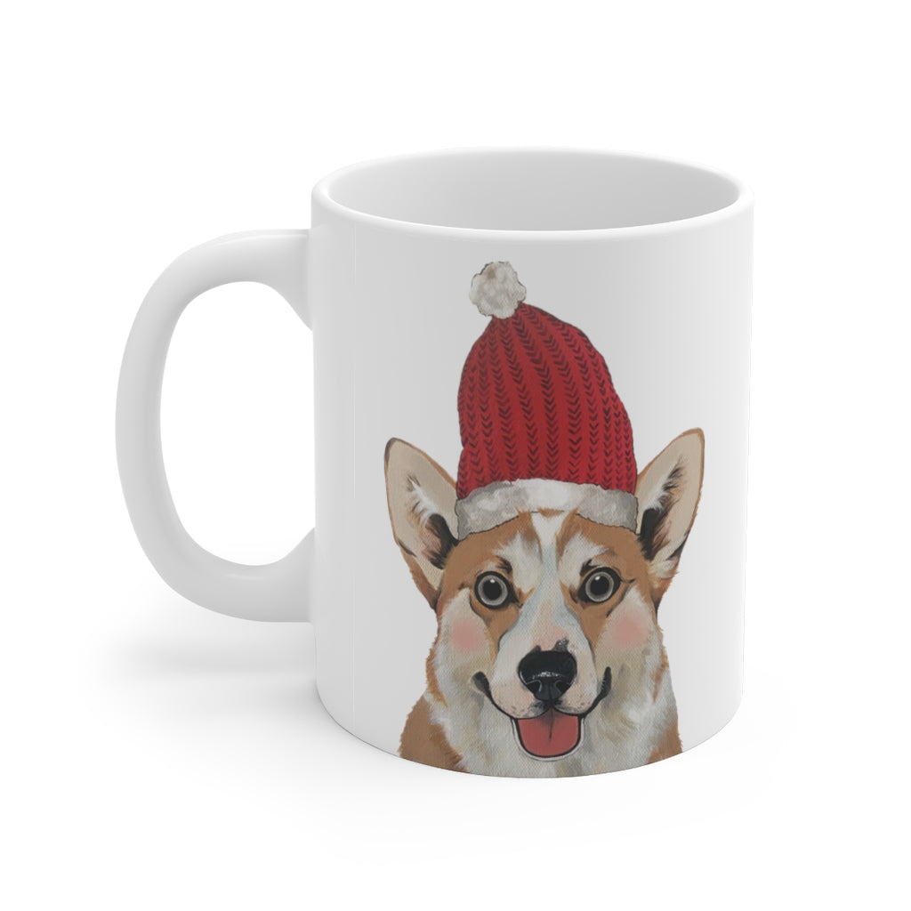 Holiday Pups Mug - Corgi