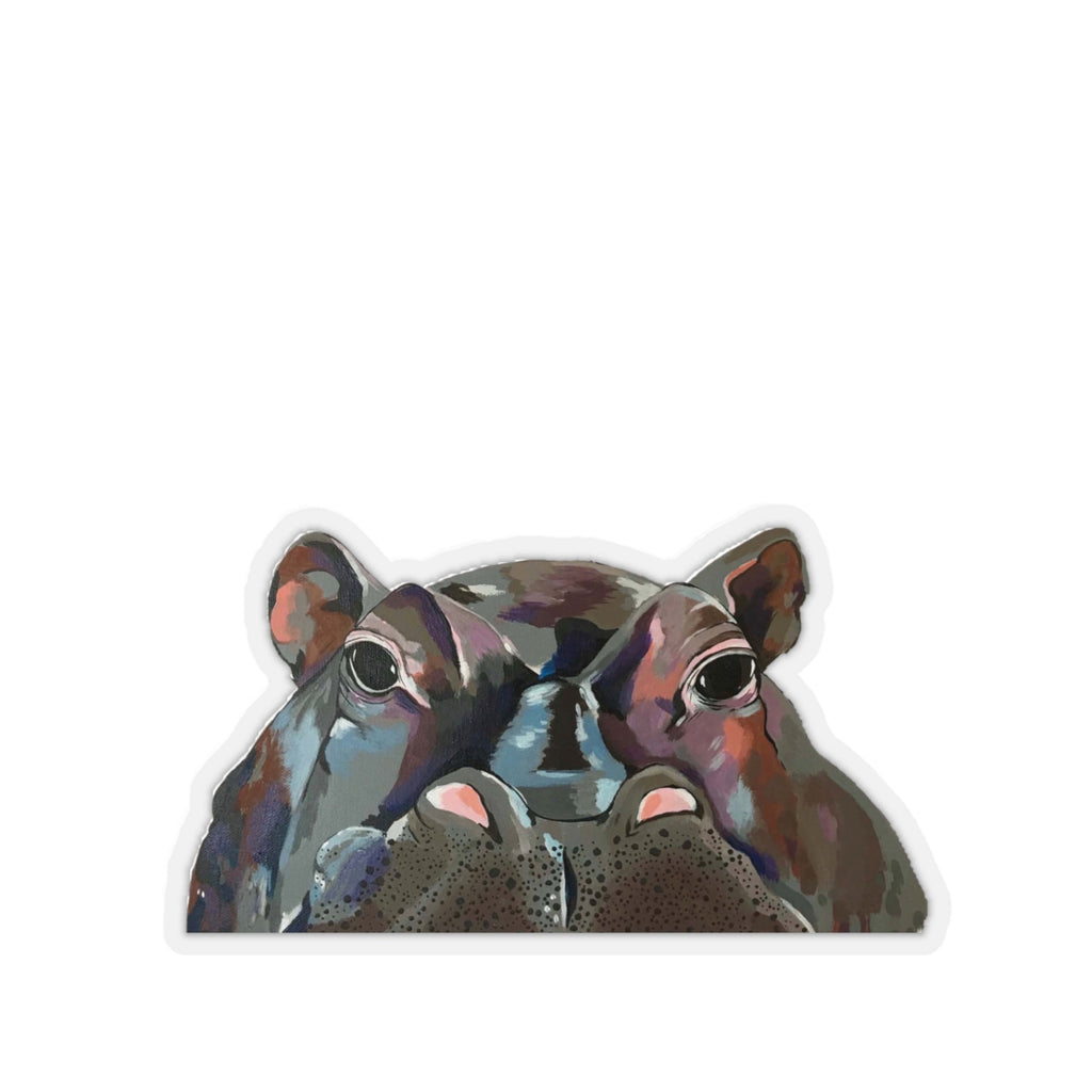 Henry the Hippo Kiss-Cut Sticker