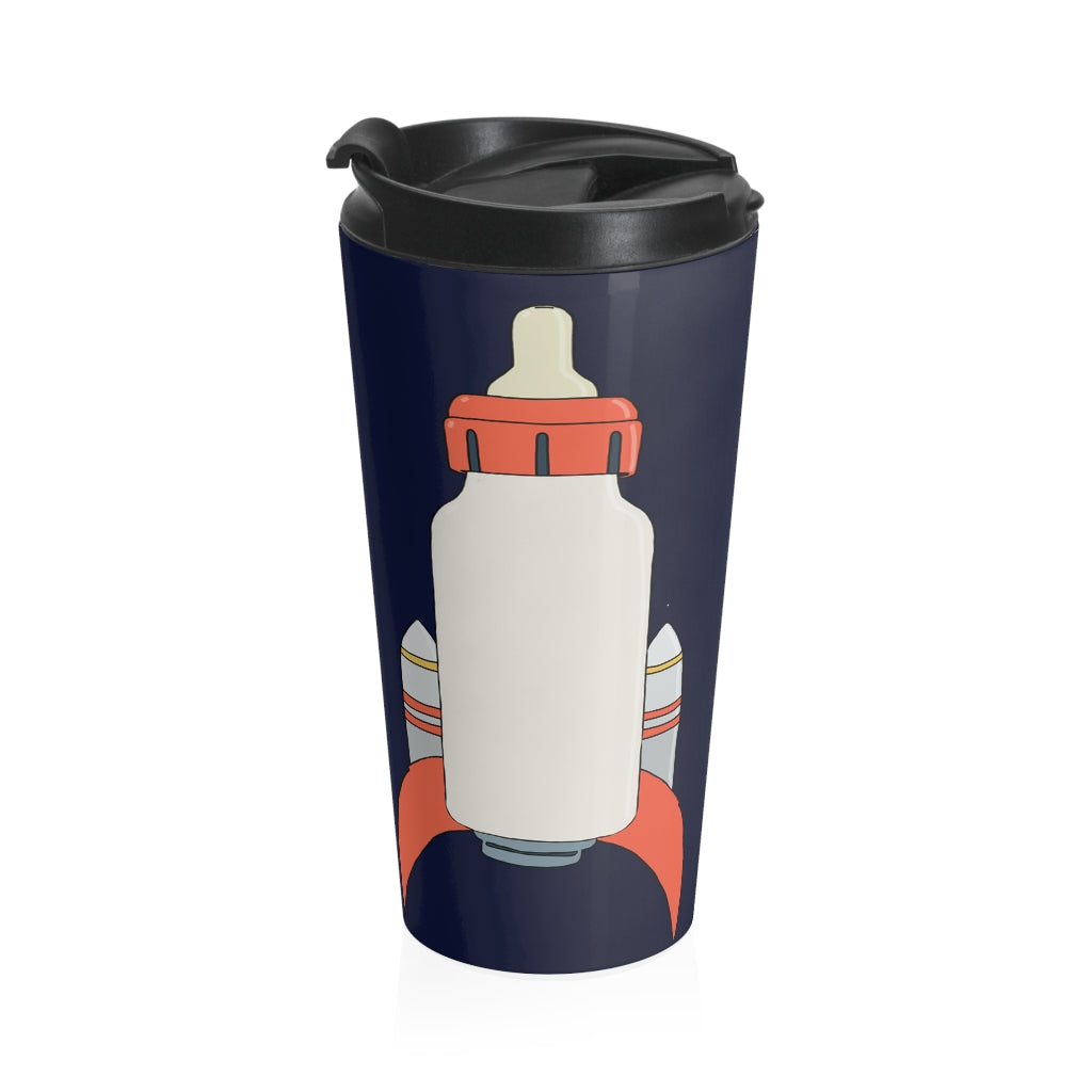 Bottle Rocket Stainless Steel Travel Mug ( JSC )