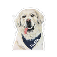 Load image into Gallery viewer, Tucker Kiss-Cut Stickers