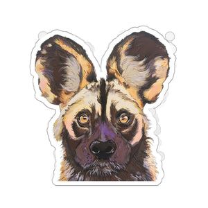 Willis the Wild Dog Kiss-Cut Sticker