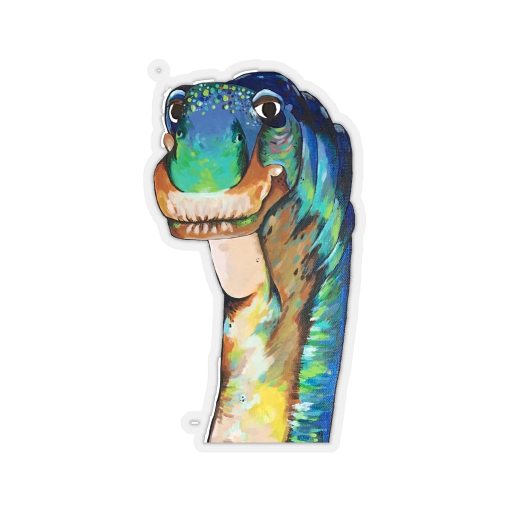 Dougie the Dino Kiss-Cut Stickers