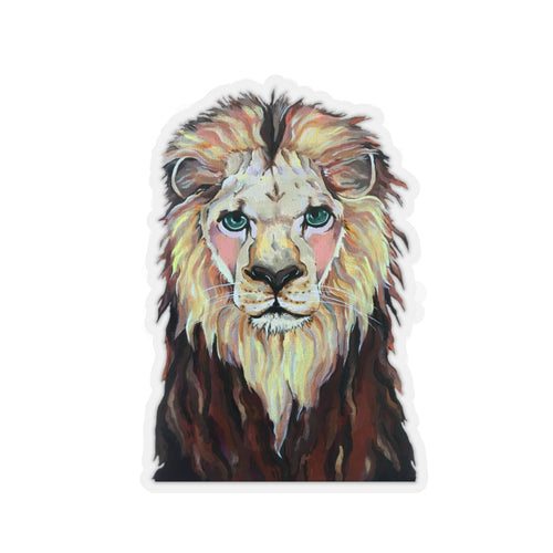 Laurence the Lion Sticker