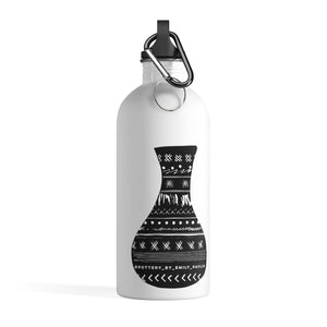 Pottery by Emily Pavlik Stainless Steel Water Bottle