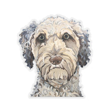 Load image into Gallery viewer, Laddie the Labradoodle Kiss-Cut Sticker